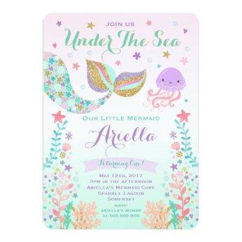 Mermaid Birthday  Under The Sea Party