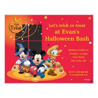 Mickey and Friends Halloween Party