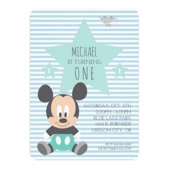 Mickey Mouse | First Birthday