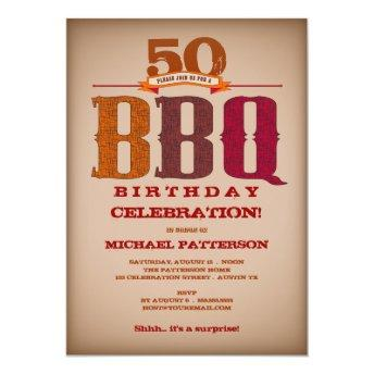 Milestone Birthday BBQ Celebration