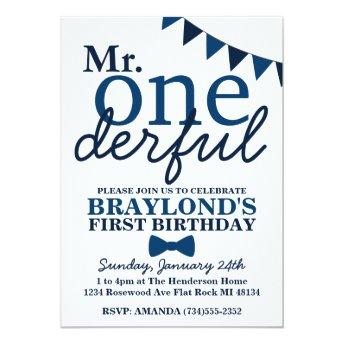 Mr Onederful 1st Birthday