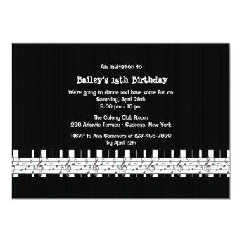 Musically Inclined Birthday Party