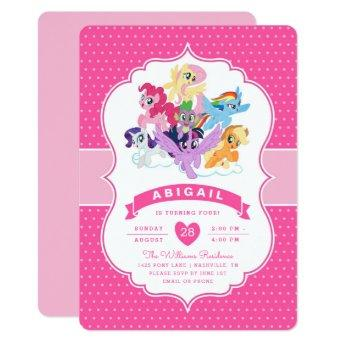 My Little Pony Rainbow Dash Thank You Invitation Birthday Party