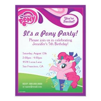 My Little Pony Pinkie Pie Birthday Party