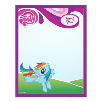My Little Pony Rainbow Dash Thank You