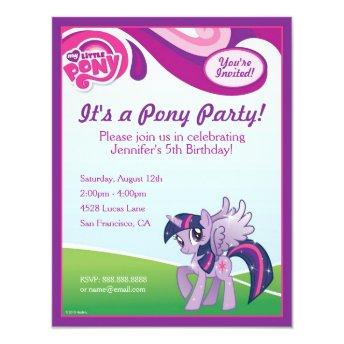 My Little Pony Twilight Sparkle Birthday Party