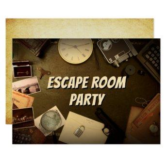 Mystery Game Escape Room Party
