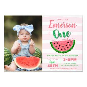 One in a melon, watermelon , picture