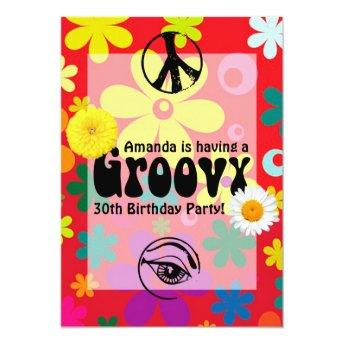 Personalized Hippie Themed Party