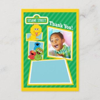 Personalized Sesame Street Pals Birthday Invitation