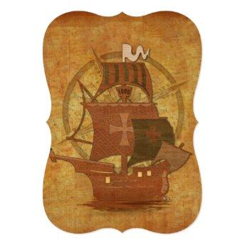 Pirate Mystery Ship