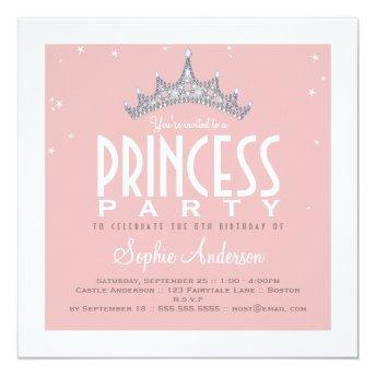 Pretty Tiara Princess Birthday Party