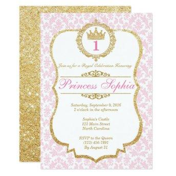 Princess Birthday  Pink & Gold