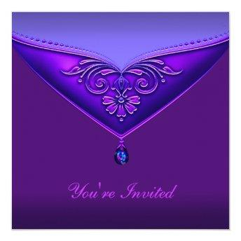 Purple All Occasion Party  Template