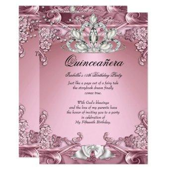 Quinceanera Pink 15th Birthday Party