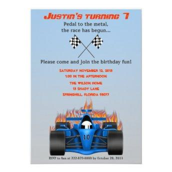 Race Car Birthday