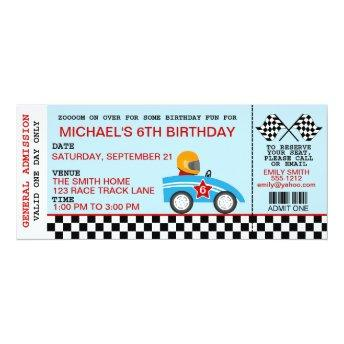 Race Car birthday  customizable
