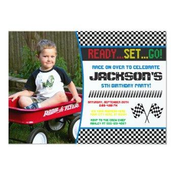 Race Car Birthday  | Racing