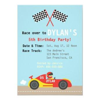 Racing Car Theme, Birthday Party for the Boys
