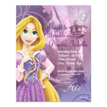 Rapunzel Birthday Invitation