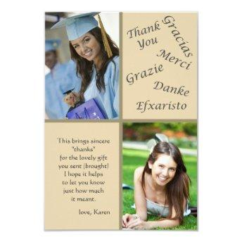 Say Thanks Photo Thank You Notes