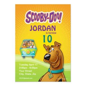 Scooby Doo Birthday Invitations Birthday Party Invitations