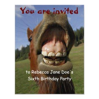 Silly Horse and Donkey Birthday Party