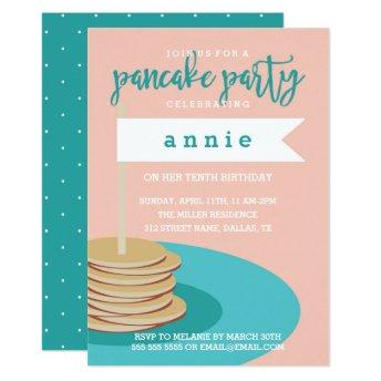 Stack of Pancakes | Birthday Party