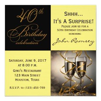 Surprise 40th Birthday Party