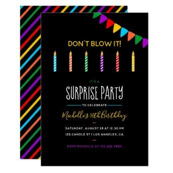 Surprise Birthday Party personalized
