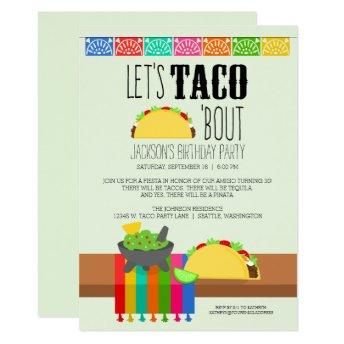 Taco 'Bout Birthday Party