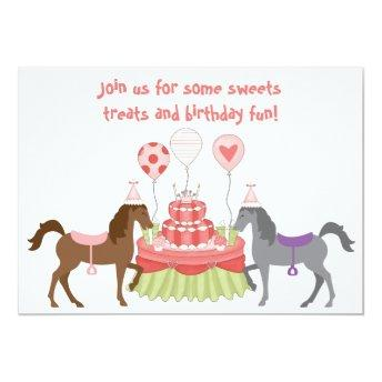 The Pretty Ponies Horse Birthday Party