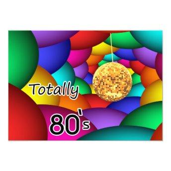 totally 80's retro party