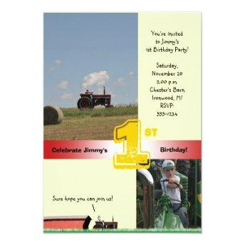 Tractor Birthday : International Tractor