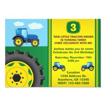 Tractor Birthday Party  any age