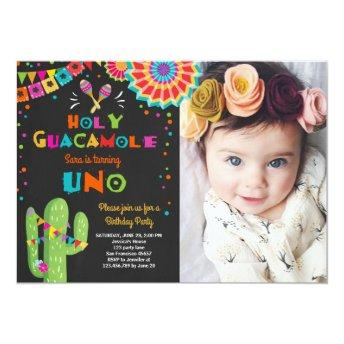 Uno Fiesta First Birthday  Cactus Party