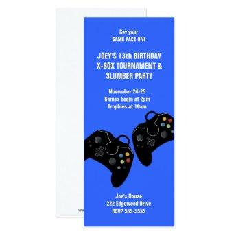 Video Game Controller Birthday  9 x 4