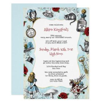 Vintage Alice in Wonderland Birthday