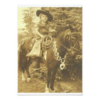 VINTAGE COWGIRL WESTERN PARTY