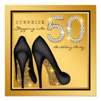 Womans Surprise 50th Birthday Party