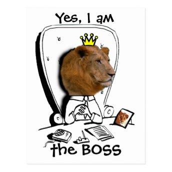 Yes, I am the BOSS PostInvitation